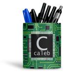 Circuit Board Ceramic Pen Holder