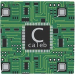 Circuit Board Ceramic Tile Hot Pad (Personalized)