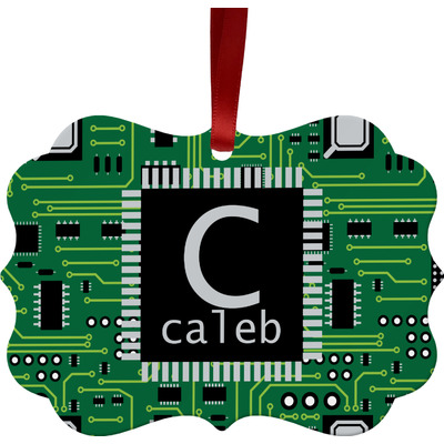 Circuit Board Ornament (Personalized)