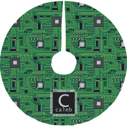 Circuit Board Tree Skirt (Personalized)
