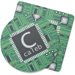 Circuit Board Rubber Backed Coaster (Personalized)