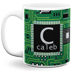 Circuit Board 11 Oz Coffee Mug - White (Personalized)