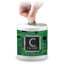 Circuit Board Coin Bank (Personalized)