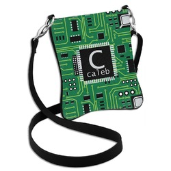 Circuit Board Cross Body Bag - 2 Sizes (Personalized)