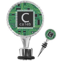 Circuit Board Wine Bottle Stopper (Personalized)