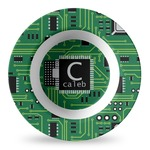 Circuit Board Plastic Bowl - Microwave Safe - Composite Polymer (Personalized)