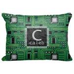"Circuit Board Decorative Baby Pillowcase - 16""x12"" (Personalized)"