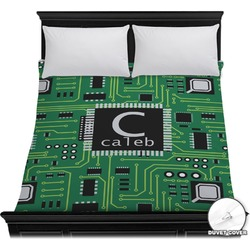 Circuit Board Duvet Cover (Personalized)