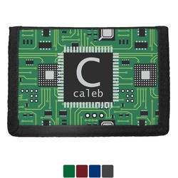 Circuit Board Trifold Wallet (Personalized)