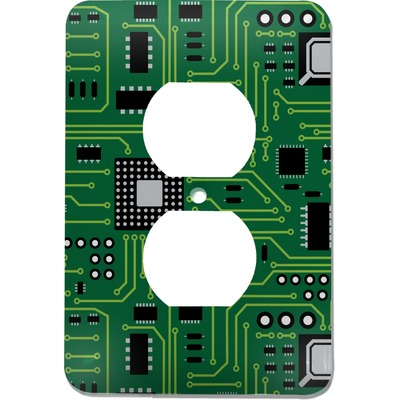 Circuit Board Electric Outlet Plate (Personalized)