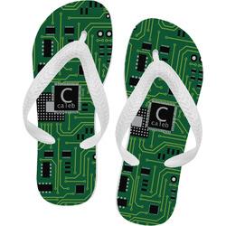 Circuit Board Flip Flops (Personalized)