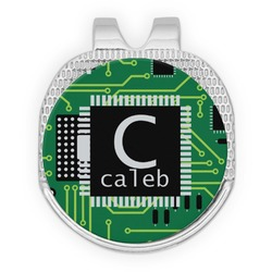 Circuit Board Golf Ball Marker - Hat Clip