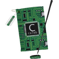 Circuit Board Golf Towel Gift Set (Personalized)