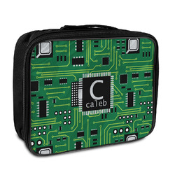 Circuit Board Insulated Lunch Bag (Personalized)