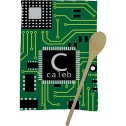 Circuit Board Kitchen Towel - Full Print (Personalized)