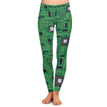 Circuit Board Ladies Leggings (Personalized)
