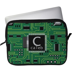 """Circuit Board Laptop Sleeve / Case - 15"""" (Personalized)"""