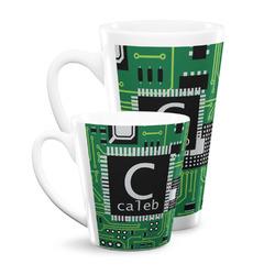 Circuit Board Latte Mug (Personalized)
