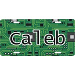 Circuit Board Front License Plate (Personalized)