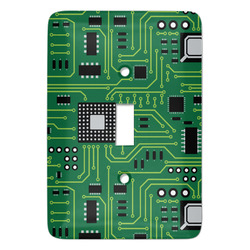 Circuit Board Light Switch Cover (Single Toggle) (Personalized)