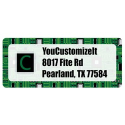 Circuit Board Return Address Labels (Personalized)
