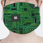 Circuit Board Face Mask Cover (Personalized)