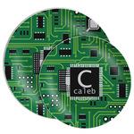 Circuit Board Melamine Plate (Personalized)