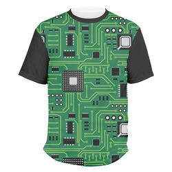 Circuit Board Men's Crew T-Shirt (Personalized)