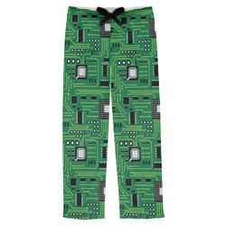 Circuit Board Mens Pajama Pants (Personalized)