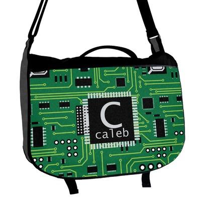 Circuit Board Messenger Bag (Personalized)