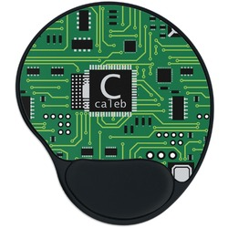 Circuit Board Mouse Pad with Wrist Support