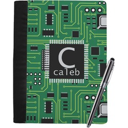 Circuit Board Notebook Padfolio (Personalized)