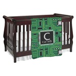 Circuit Board Baby Blanket (Personalized)