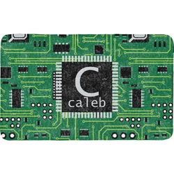 Circuit Board Bath Mat (Personalized)