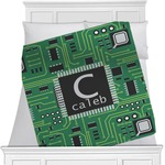 Circuit Board Minky Blanket (Personalized)
