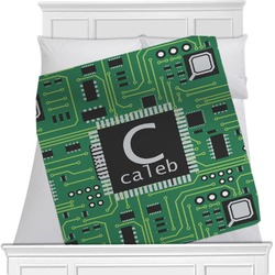 Circuit Board Blanket (Personalized)