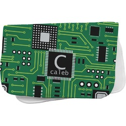 Circuit Board Burp Cloth (Personalized)