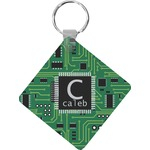 Circuit Board Diamond Key Chain (Personalized)