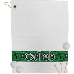 Circuit Board Golf Bag Towel (Personalized)