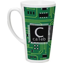 Circuit Board 16 Oz Latte Mug (Personalized)