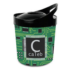 Circuit Board Plastic Ice Bucket (Personalized)