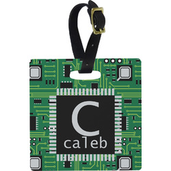 Circuit Board Luggage Tags (Personalized)