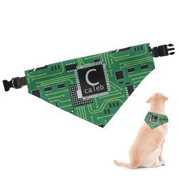Circuit Board Dog Bandana (Personalized)