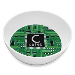 Circuit Board Melamine Bowl 8oz (Personalized)