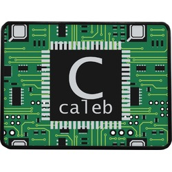 """Circuit Board Rectangular Trailer Hitch Cover - 1.25"""" (Personalized)"""