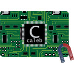 Circuit Board Rectangular Fridge Magnet (Personalized)