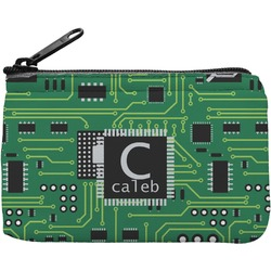 Circuit Board Rectangular Coin Purse (Personalized)