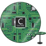Circuit Board Round Table (Personalized)