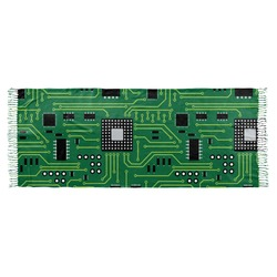Circuit Board Faux Pashmina Shawl (Personalized)