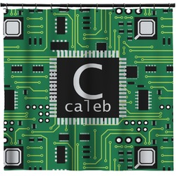 Circuit Board Shower Curtain (Personalized)